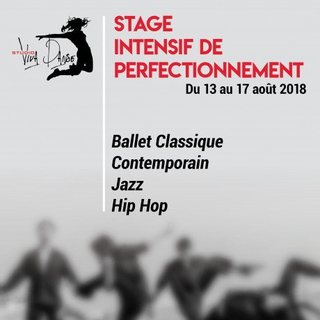 Stage Intensif de Perfectionnement 2018